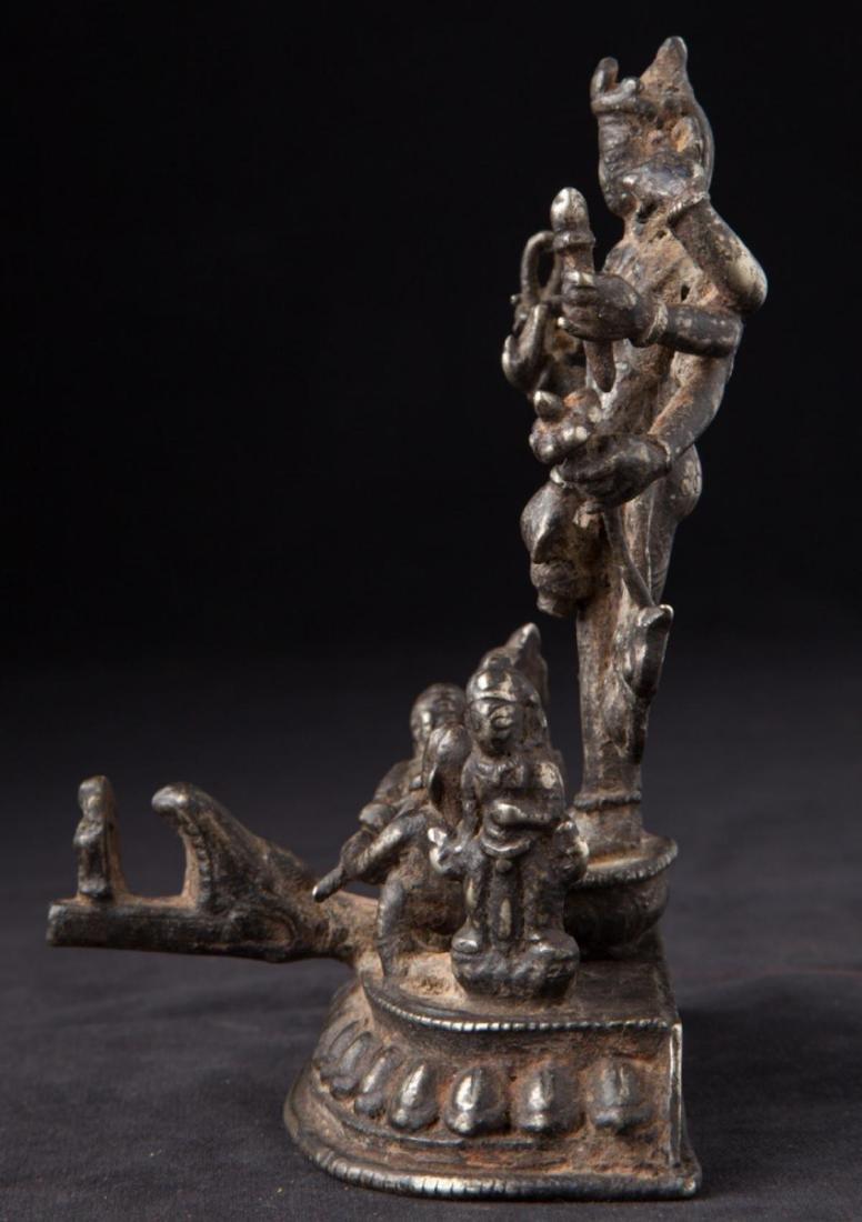 Antique Hindu God Statue - 3