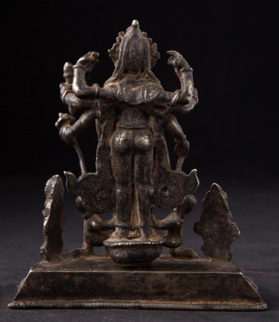 Antique Hindu God Statue - 6