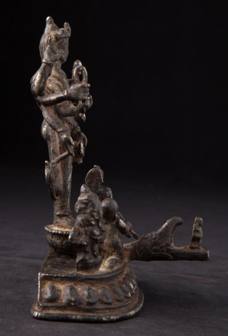 Antique Hindu God Statue - 7
