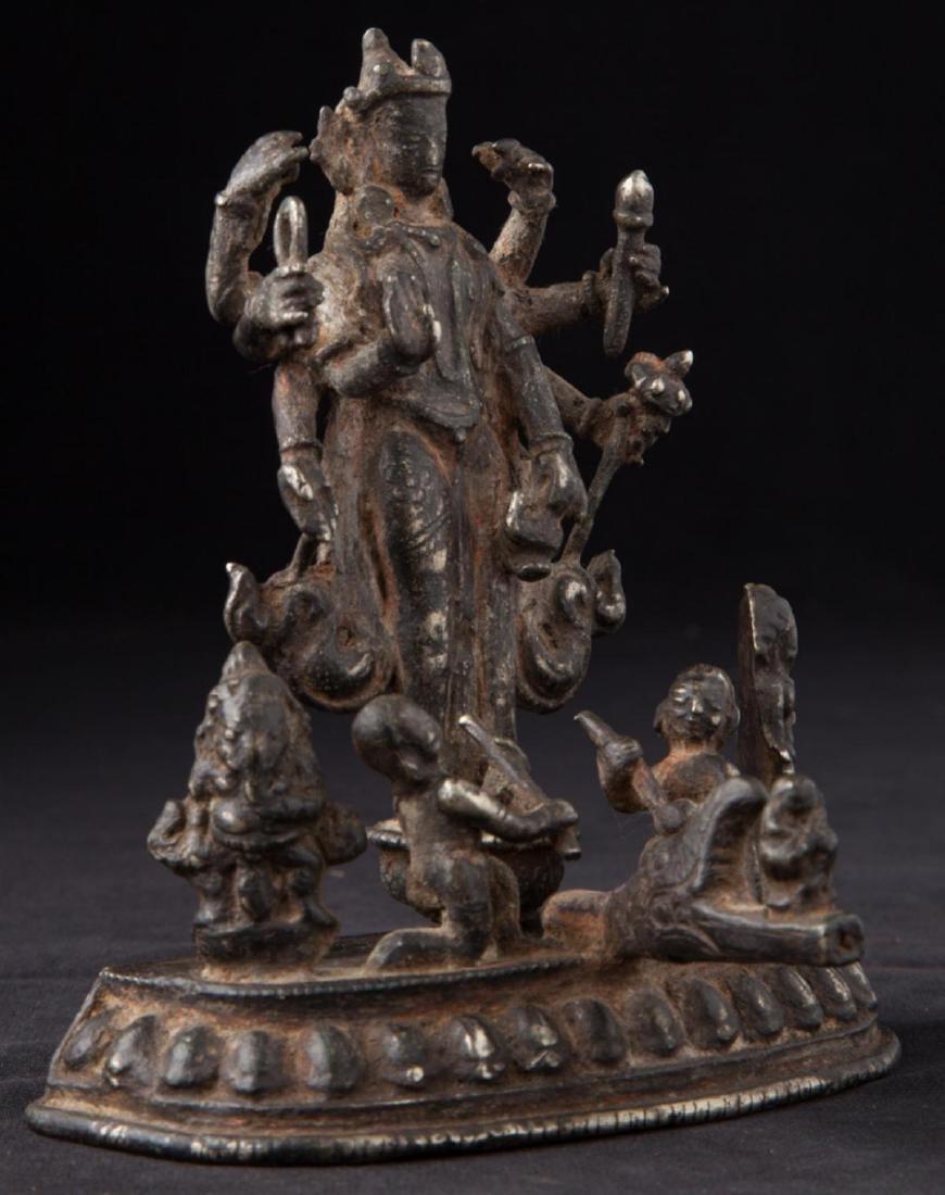 Antique Hindu God Statue - 8