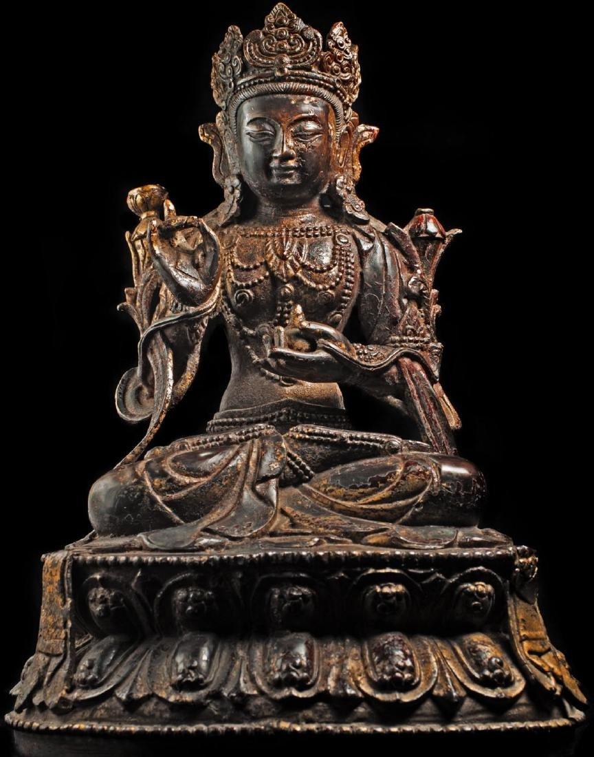 Antique Chinese Buddha Statue