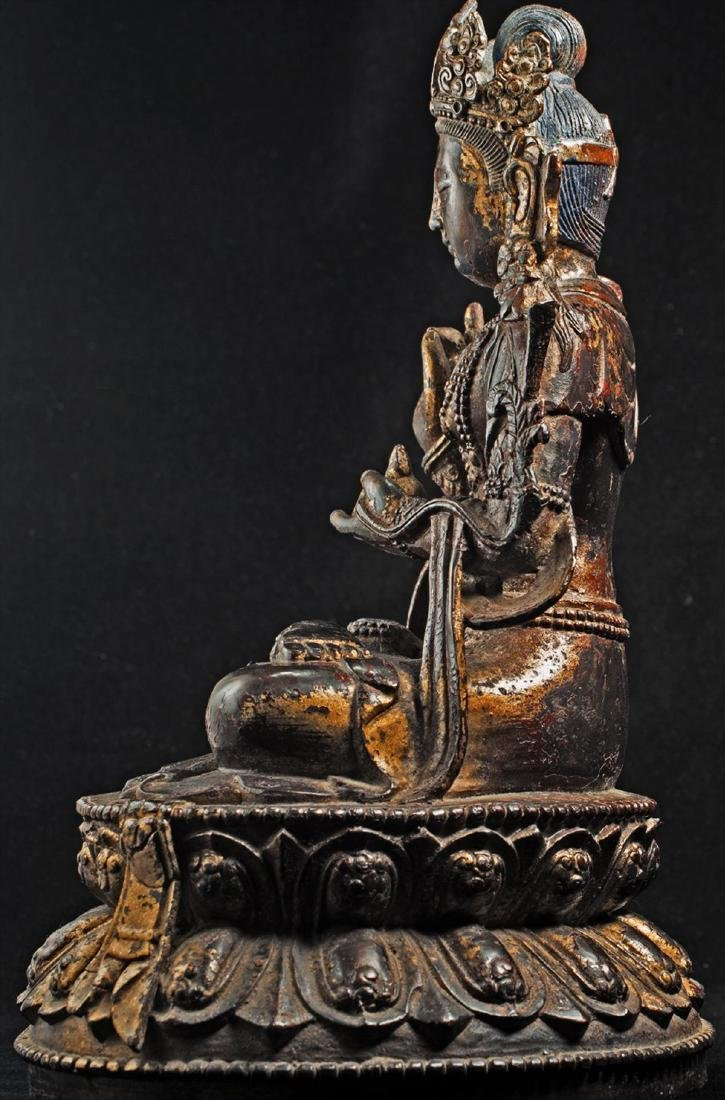 Antique Chinese Buddha Statue - 3
