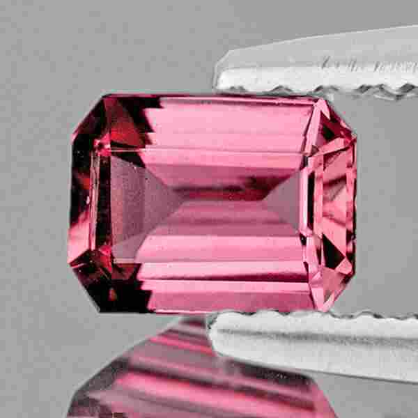 NATURAL BRILLIANT PINK TOURMALINE 7x5 MM