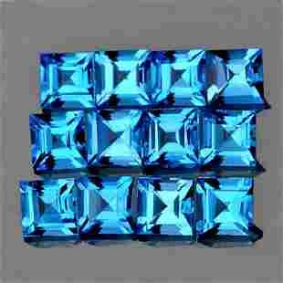 Natural Swiss Blue Topaz FlawlessVVS1