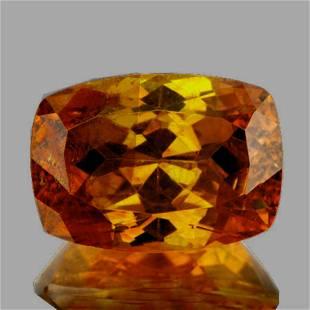 Natural Rare Bi Color Yellow Orange Sphalerite 13x9 MM