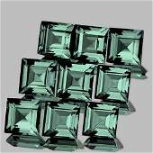 Natural Unheated Blue Green Sapphire FlawlessVVS