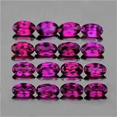 Natural Pink Purple Rhodolite Garnet 5x3 Mm  FL