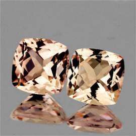 Natural Brilliant Golden Pink Morganite [Flawless-VVS]