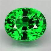 Natural Chrome Green Tsavorite Garnet FlawlessVVS
