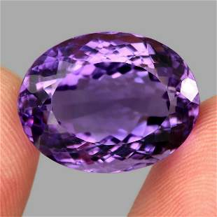 Natural Rich Purple Amethyst 34.62 Carats - Untreated