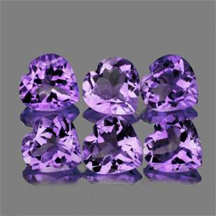 Purple Heart Amethyst 12 mm - VVS
