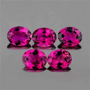 Natural Pink Tourmaline 5x4 MM {Flawless-VVS1}