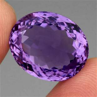 Natural Purple Amethyst 19.12 Cts - Untreated