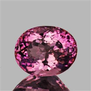 Natural Pink Tourmaline 8x6 MM {Flawless-VVS}