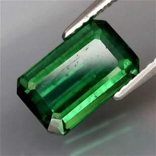 Natural Bluish Green Tourmaline 3.54 Cts - Untreated