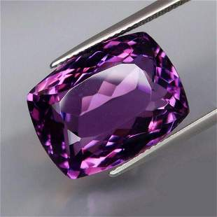 Natural Purple Amethyst 19.22 Cts - Untreated