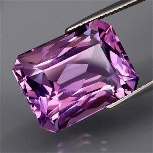 Natural Purple Amethyst 18.42 Cts - Untreated
