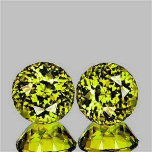 Natural Fiery  Green Yellow Mali Garnet {Flawless-VVS}