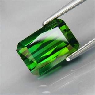 Natural Bluish Green Tourmaline 4.16 Ct