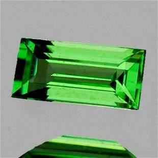 Natural Chrome Green Tsavorite Garnet {Flawless-VVS}