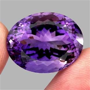 Natural  Purple Amethyst 29.25 Cts - VVS