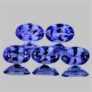 Nautral Purple Blue Tanzanite {Flawless-VVS1}