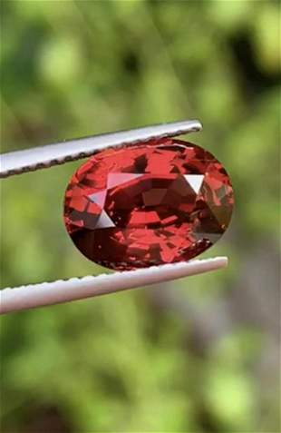 Natural Burma Spinel 3.33 Ct - Certified