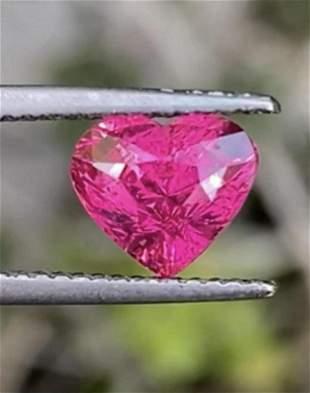 Natural Untreated Vivid Pink Mahenge Spinel