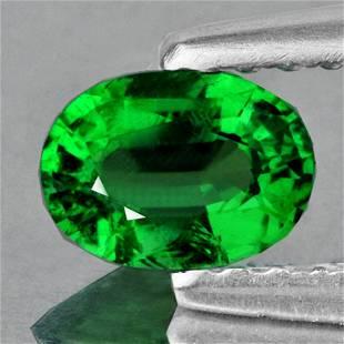 Natural Emerald Green Tsavorite Garnet - Untreated
