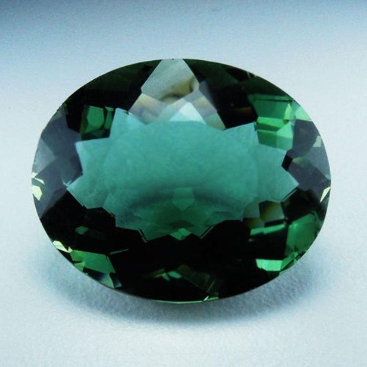 Natural Green Amethyst 21.22 cts - VVS