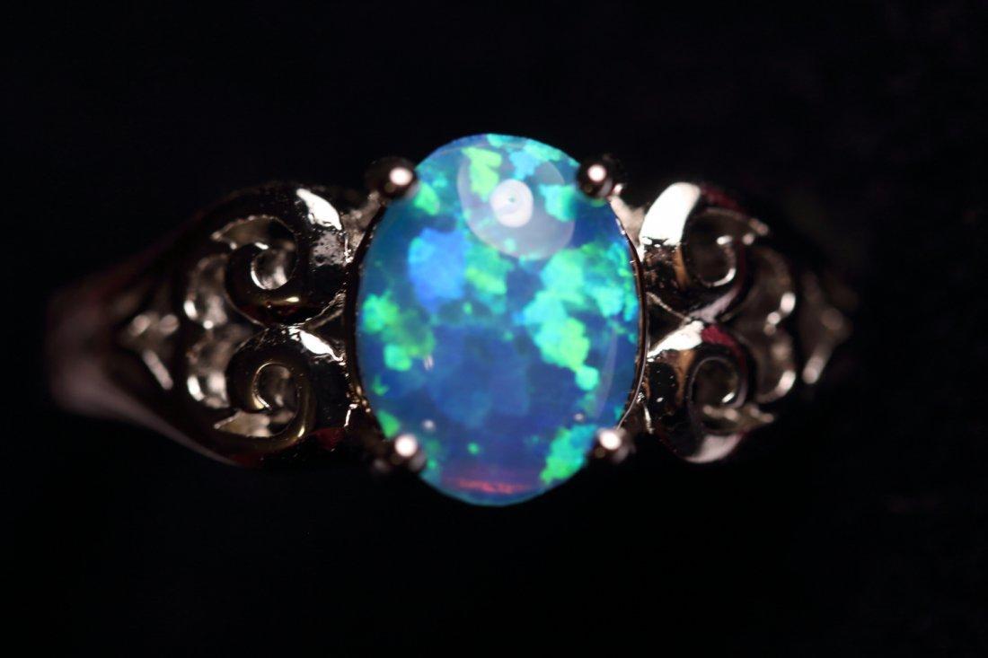 Stunning Natural Opal Ring