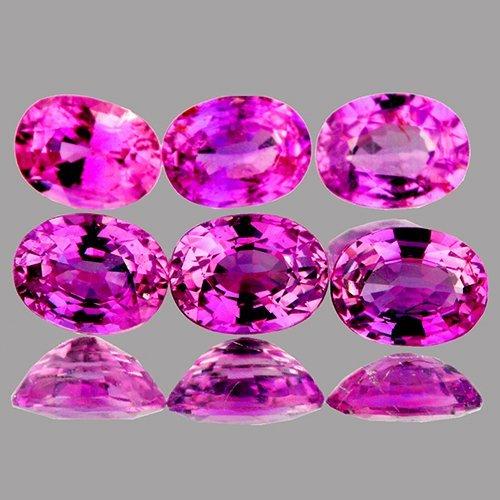 Natural Intense  Pink Sapphire - VVS