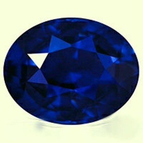 Natural Royal Blue Sapphire 5.81 Carats - VVS