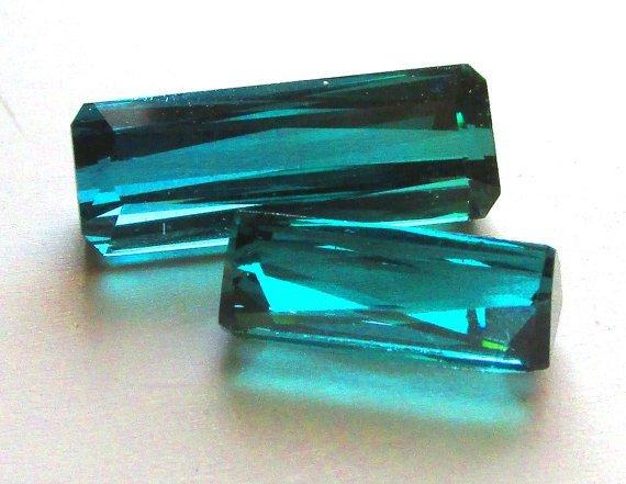 Natural Teal Green Tourmaline 15.6 Carats - AAA