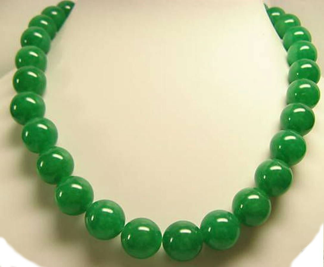 Green jade Necklace