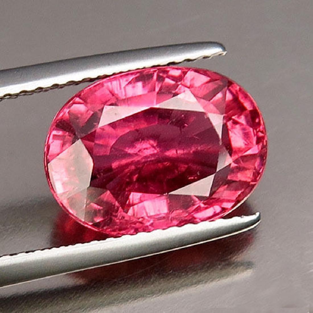Natural Hot Pink Tourmaline 5.19 ct - no Treatment