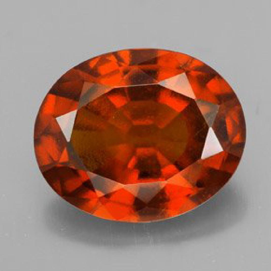 Natural Hessonite Garnet 4.20 ct - no Treatment