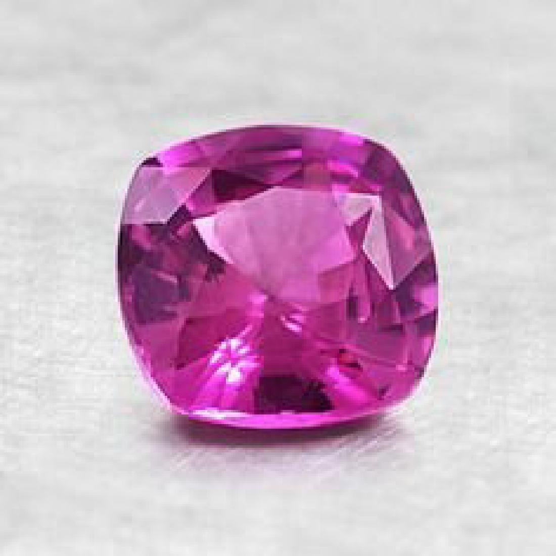 Natural Intense Pink Ruby 2.28 Cts -