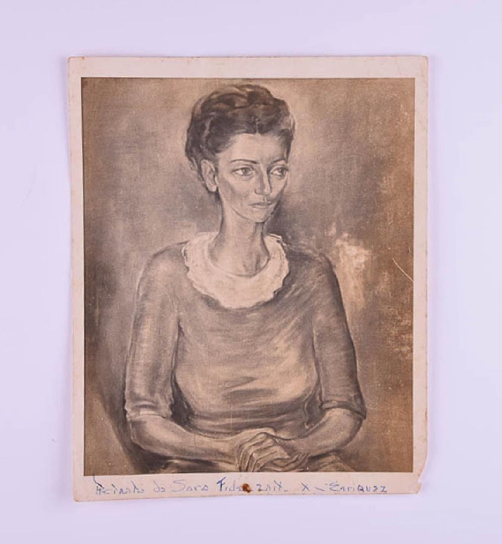 Carlos Enriquez (1900 - 1957) - Sara Fidelzait