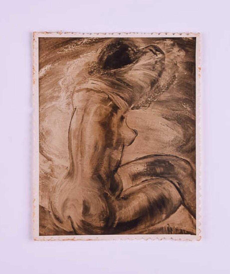 Carlos Enriquez - Desnudo