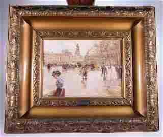 Pierre Henri Renoir - Place de la République