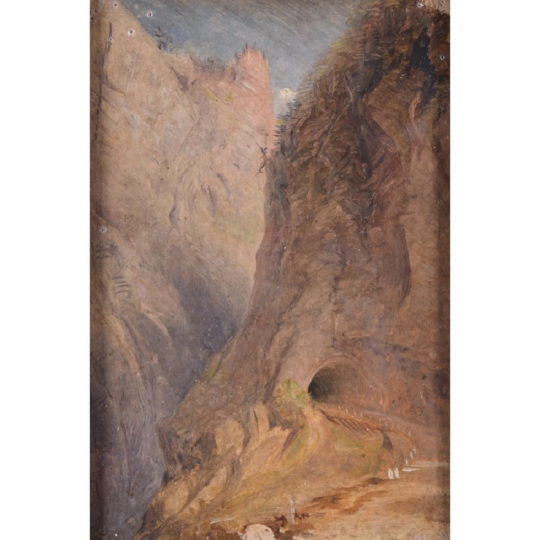 Joseph M W TURNER (1775-1851) - Tunnel