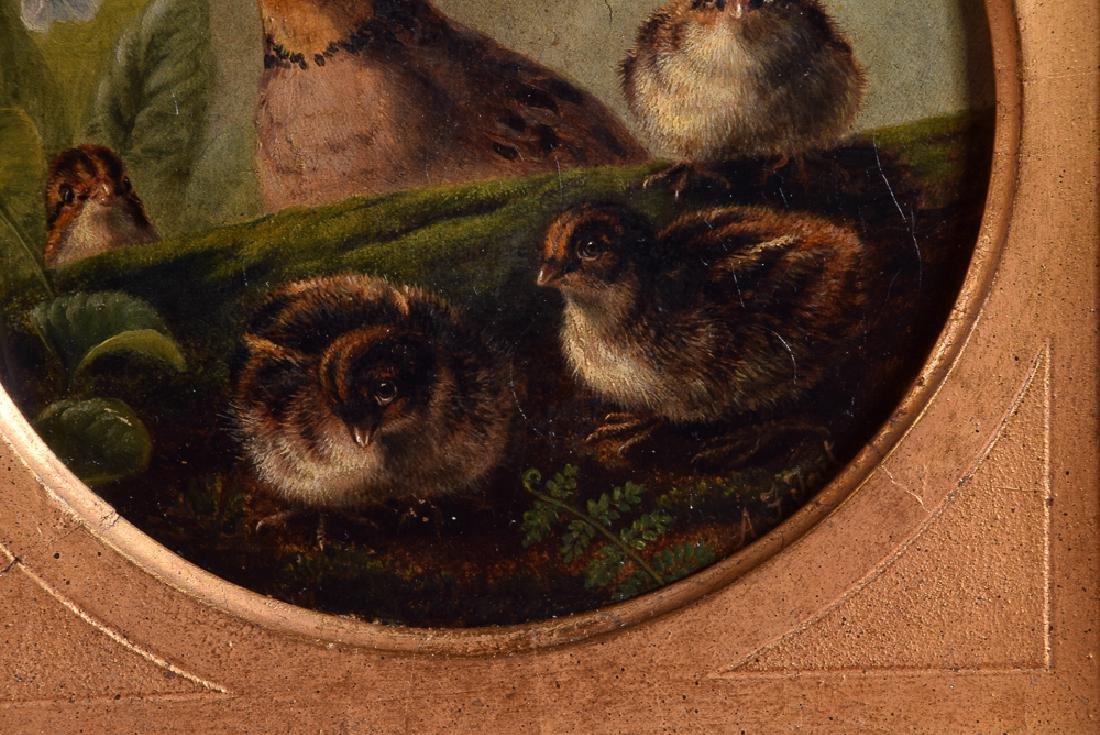 Arthur F. TAIT (1819-1905) vintage oil on panel birds - 3