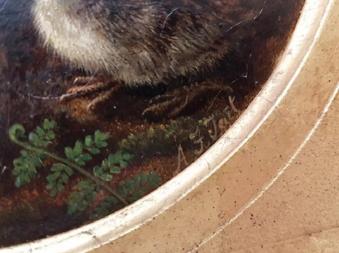 Arthur F. TAIT (1819-1905) vintage oil on panel birds - 5