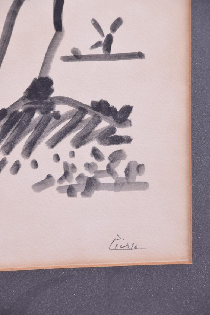 Pablo PICASSO (1881 - 1973) - Untitled (Quixote) - 2