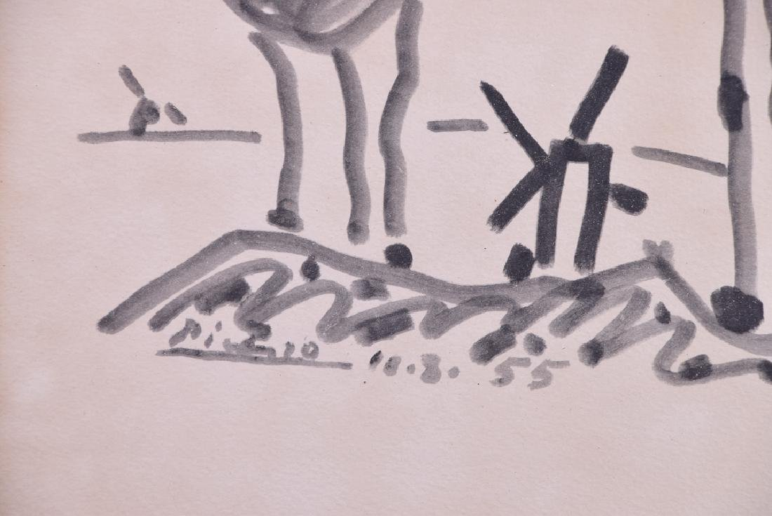 Pablo PICASSO (1881 - 1973) - Untitled (Quixote) - 3