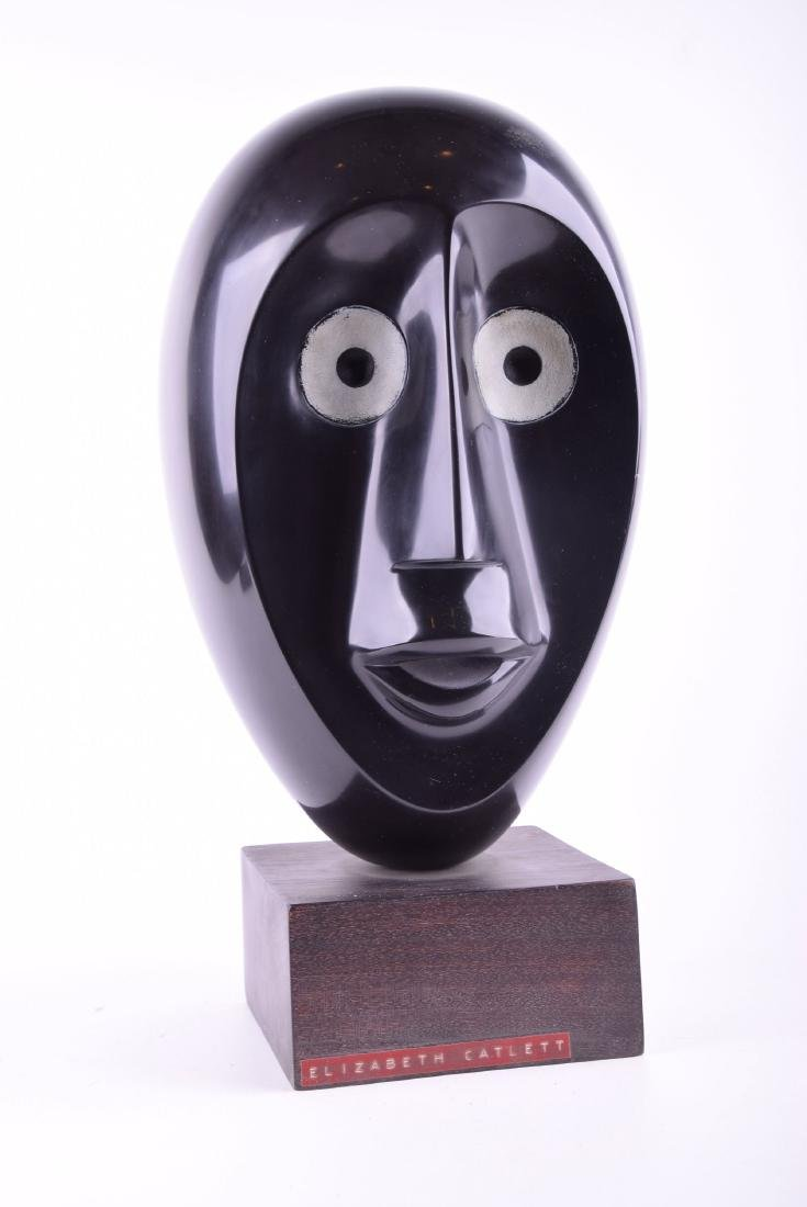Elizabeth Catlett marble sculpture Face abstract
