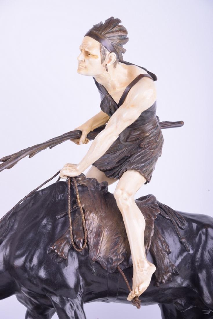 Edouard DROUOT (1859-1945) - Untitled (Native on Horse)