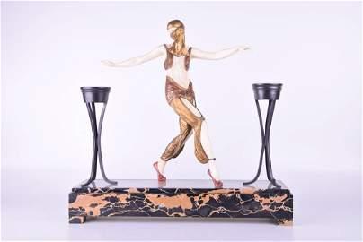 Pierre LE FAGUAYS Bronze Sculpture Harem Dancer