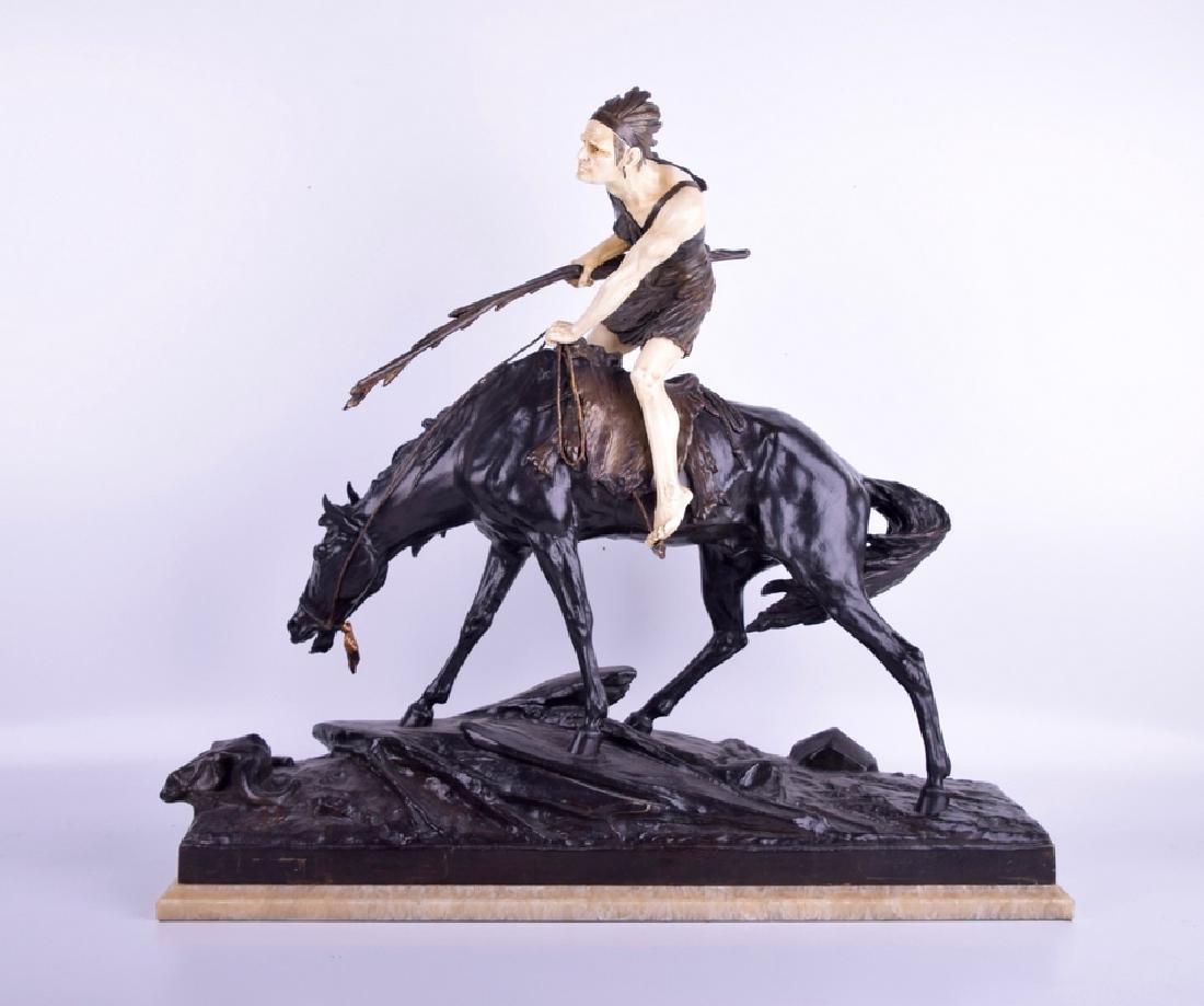 Edouard DROUOT (1859-1945) Bronze Sculpture